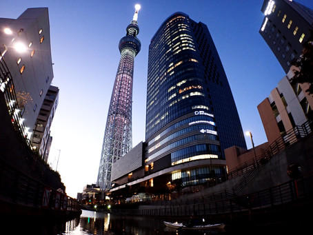 2020/11/11東京水路ナイトパドリング