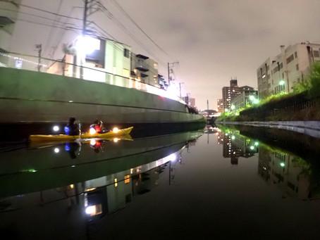 2020/12/05東京水路ナイトパドリング