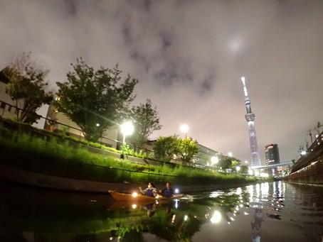 2020/09/19東京水路ナイトパドリング