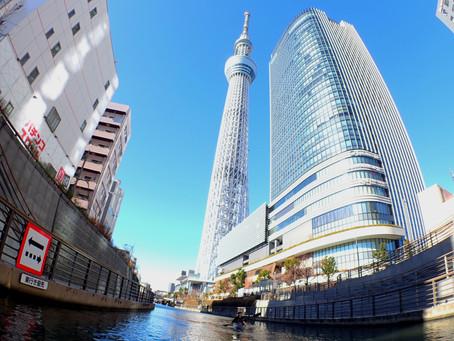 2020/12/31東京水路Aコース&ナイトパドリング