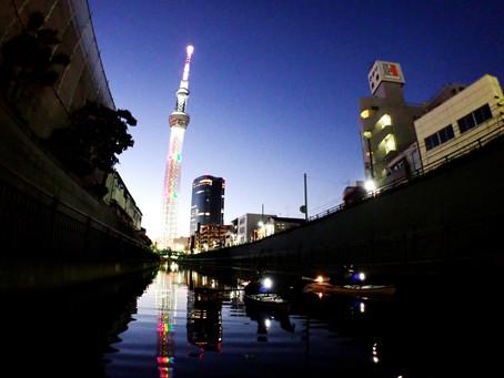 2020/11/14東京水路ナイトパドリング
