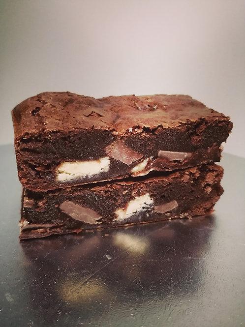 Double Chocolate Chunk Brownies