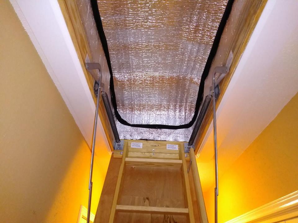 Attic Tent, Attic Ladder Insulation
