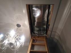 Zip-N-Flip Attic Ladder Tent