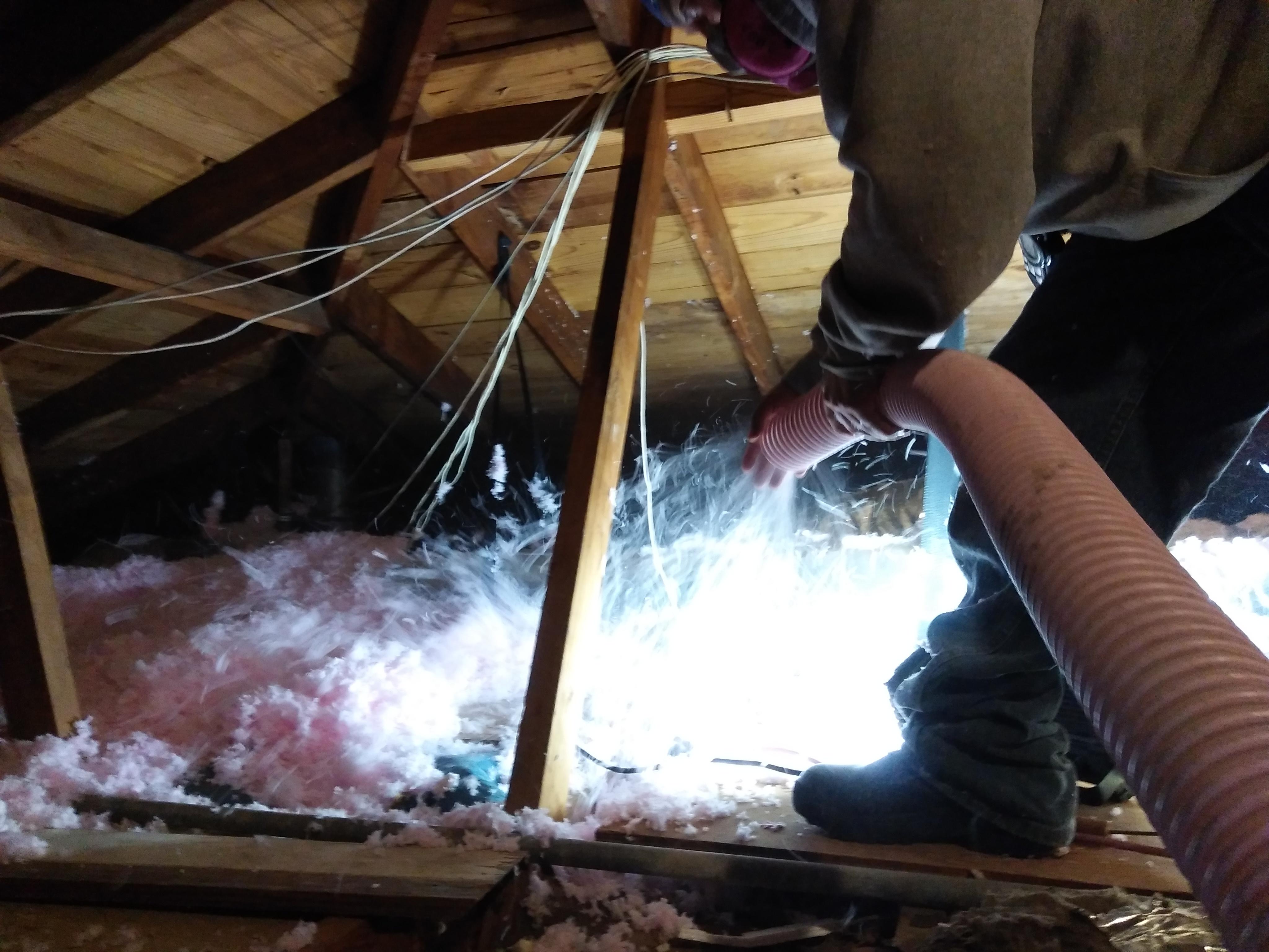 Blown Fiberglass Insulation