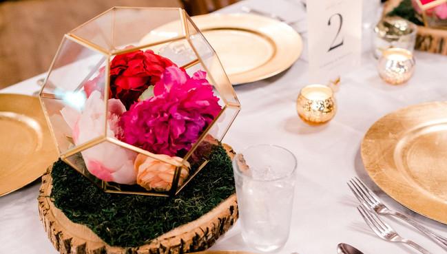 Fletcher Wedding Table Decor