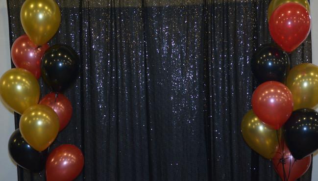 NAHSE balloon backdrop
