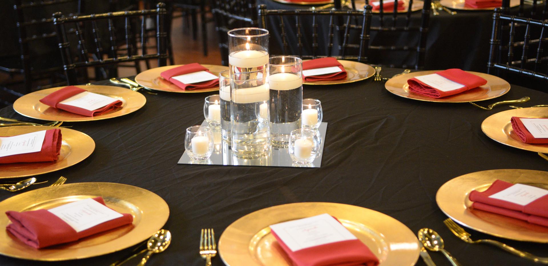 SMEP Cylinder Vase decor NAHSE reception