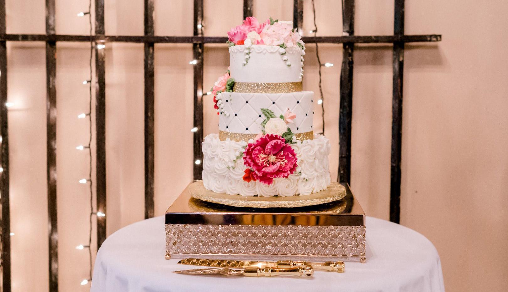 Fletcher Wedding Cake