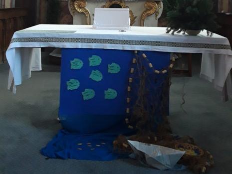 Wort-Gottes-Feier in St. Walburg am 24.01.2021