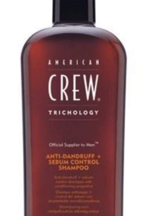 American Crew anti dandruff + sebum control shampoo