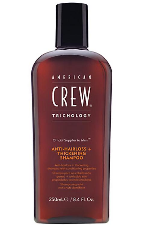 American Crew anti-hairless + thickening shampoo