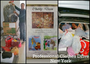 Professional Clothes Drive During the Holidays!