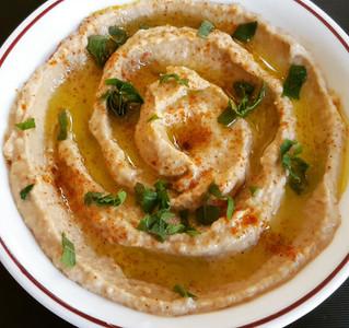 White Bean and Sun-Dried Tomato Hummus