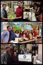 YJP NY/NJ Volunteer at Hoboken Shelter