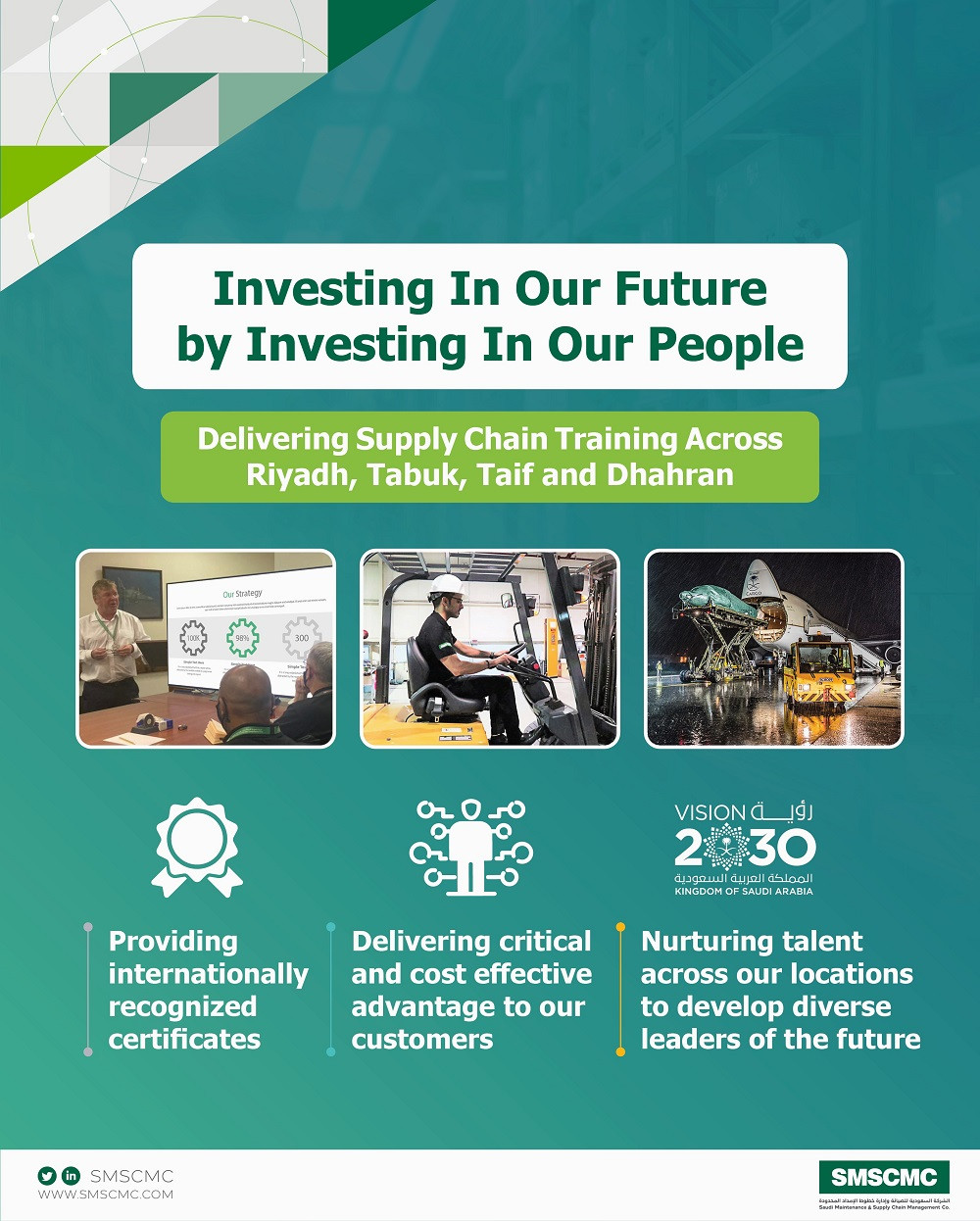 Investing In Our Future by Investing In Our People