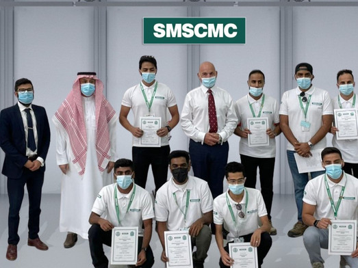 SMSCMC CEO Welcomes 11 Young Saudis Hired