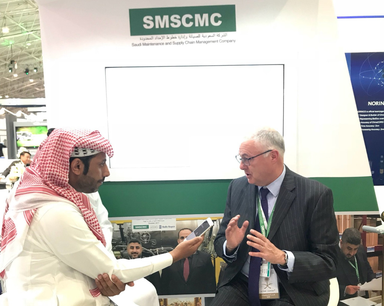 """""""SMSCMC"""" participates in AFD military industries exhibition"""