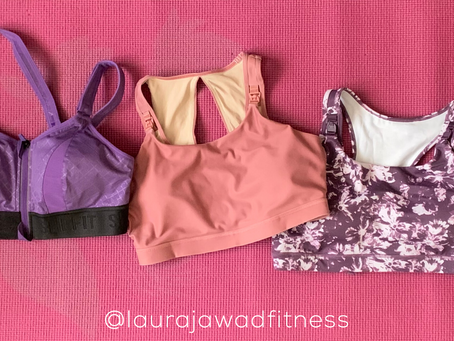 5 Great Mid- to High-Impact Nursing Sports Bras