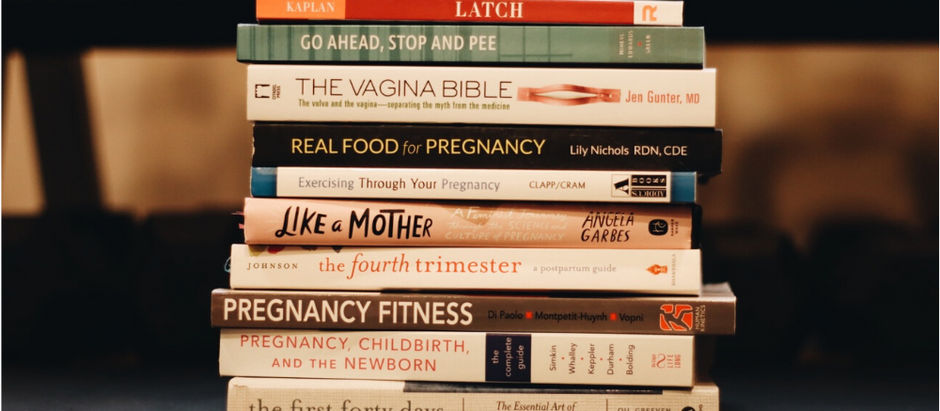 Laura's Favorite Pregnancy, Postpartum, Pelvic Health and Perinatal Fitness Books