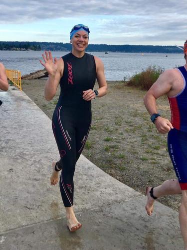 Triathlon Swim T1