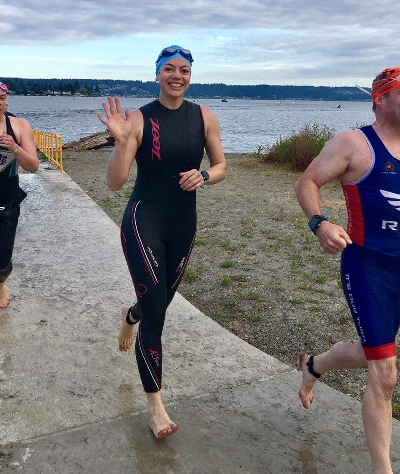 Triathlon Swim T1