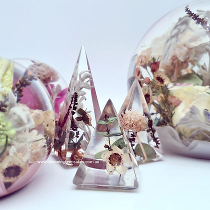 Pyramid Ring Holders Set of 3