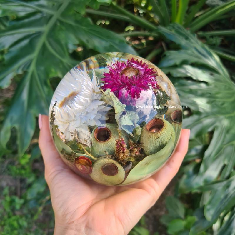 Blooming keepsake