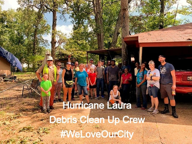 Hurricane Laura Volunteers