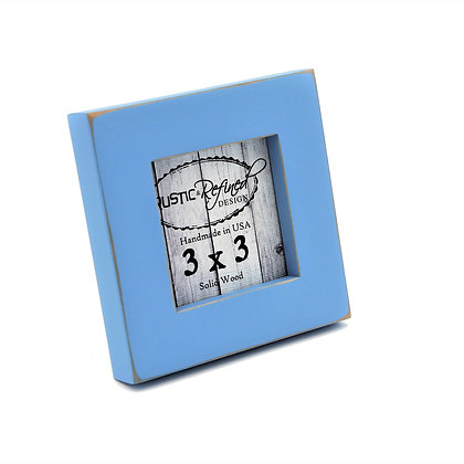 "3x3 1"" Gallery Picture Frame - Baby Blue"