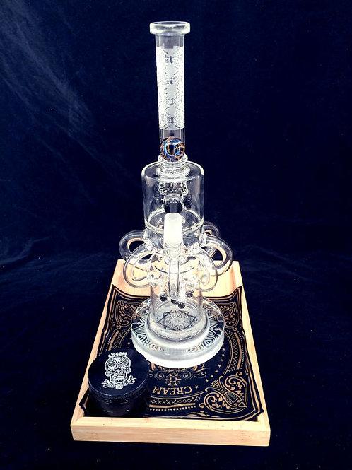Cream glass CR031
