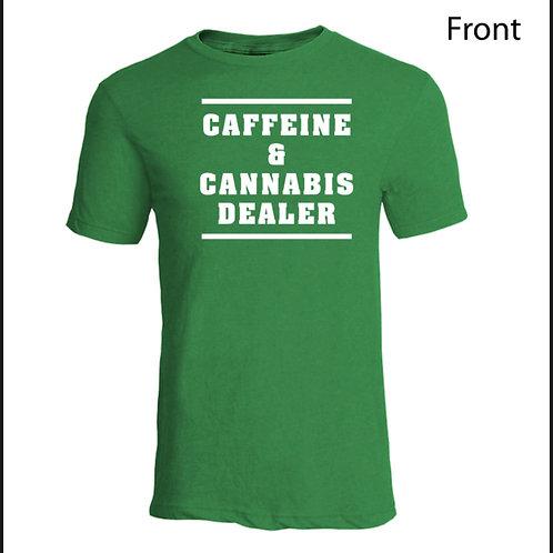 Lazydaze Caffeine Dealer Tee