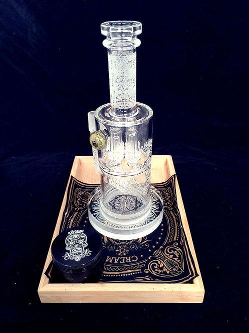 Cream glass CR034