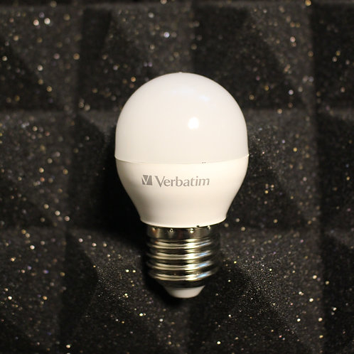 Verbatim 65221WW/ 65273DL LED G Ball E27 5.9W x 3個