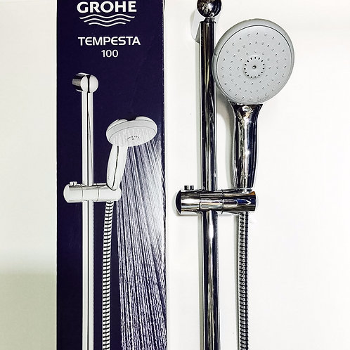 GROHE TEMPESTA100 手持花灑3件套裝Shower Hand, Hose & Pole