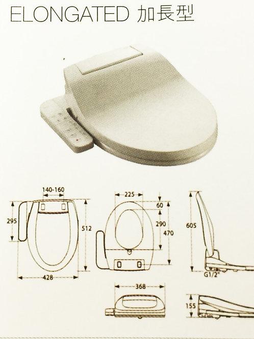804013005 MULTICLEAN Elongated 基本型電子廁板 - 加長型