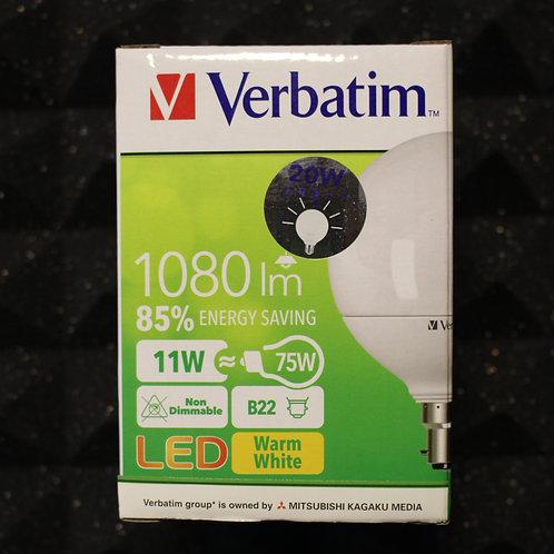 Verbatim 65107WW/65109DL LED Grand Classic B22 11W