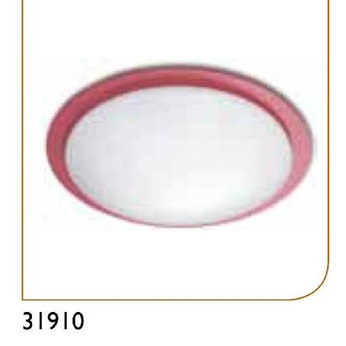 31910 red 天花燈 1 x 32W 慳電管 (紅色)