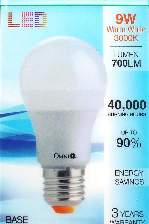 OMNI 9W Warm White 暖光 (黃光) LED 燈泡