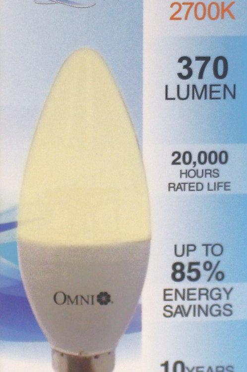OMNI 6W LED 燈泡 x 3個 (Base E14)