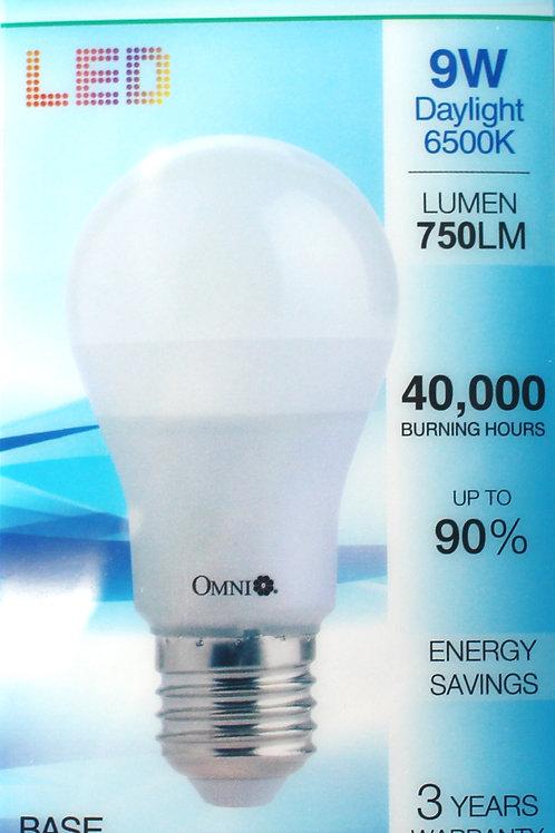 OMNI 9W LED 燈泡 x 3個 (Base E27) 黃或白光