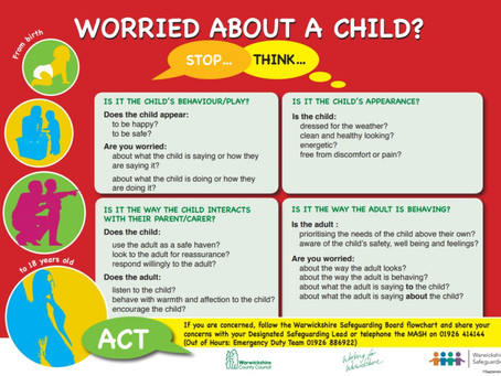 Worried about a child?