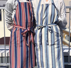 Apron (Red, Blue)
