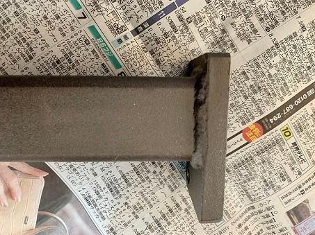 5μmの膜厚で黒くできた。黒色無電解ニッケルメッキ