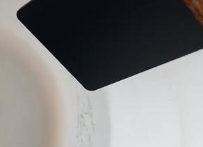 帯電防止フッ素コートの性能テスト