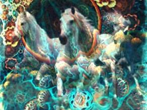 Spiritual artwork by Claudio Fiori