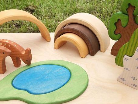 Преимущества деревянных игрушек