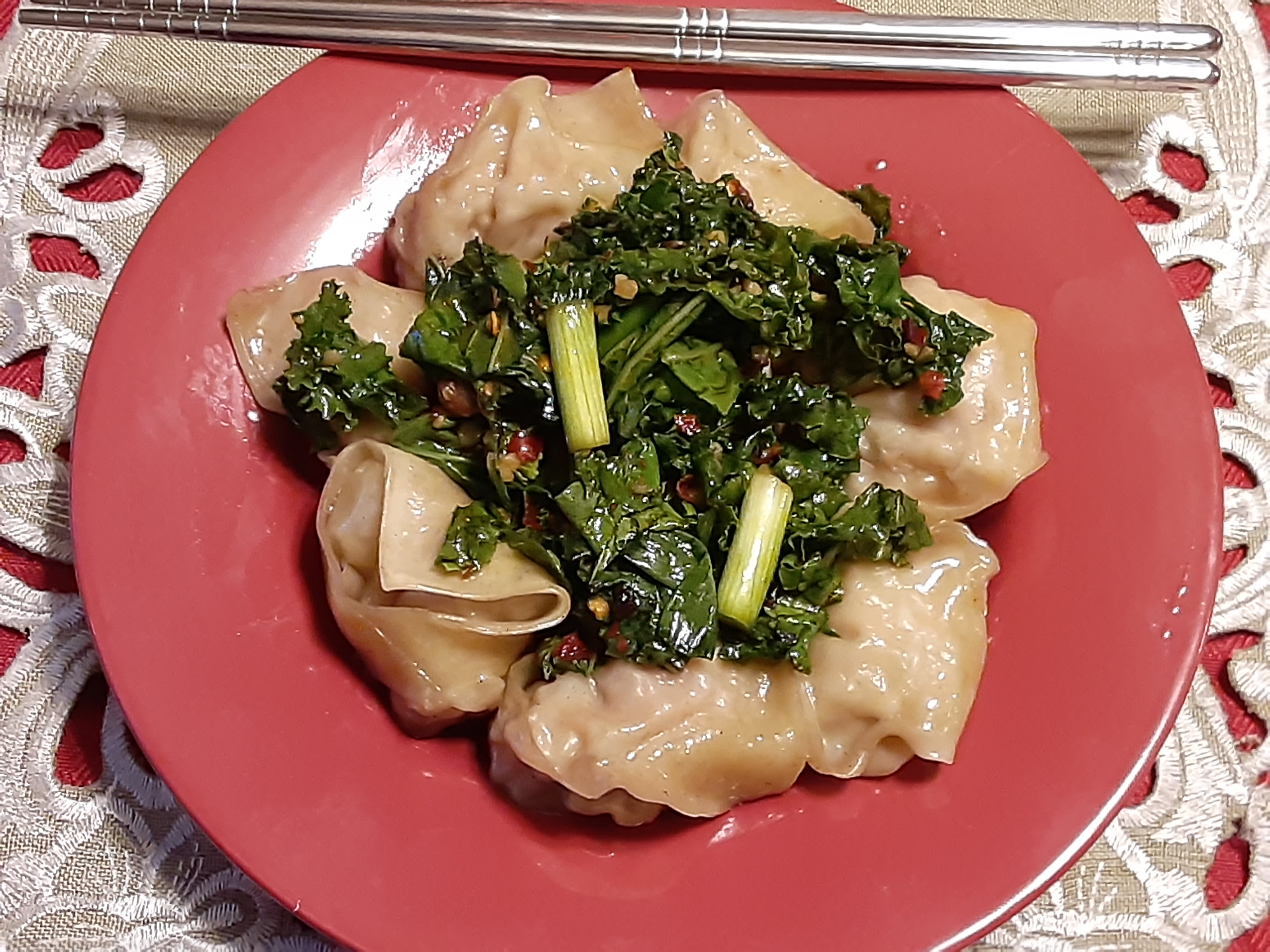 Chili-Pepper Wonton
