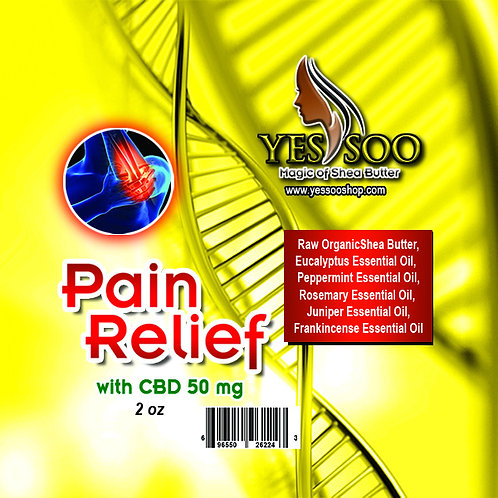 Pain Relief with CBD 50 ml