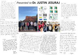 FEB. Rolling Paper for Dr. Justin jesuraj